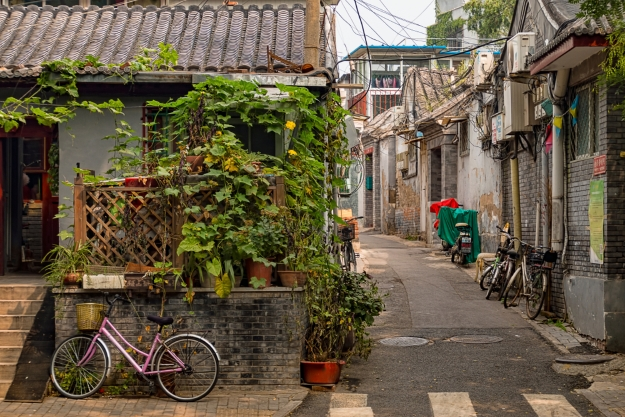 The charming streets of Beijing's hutongs