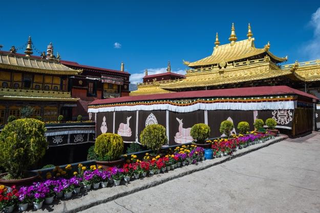 The peaceful Jokhang Temple, Tibet's holiest sight