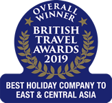 British Travel Awards 2019 - Best Holiday Company to East and Central Asia
