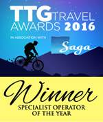 ttg specialist tour operator of the year 2016