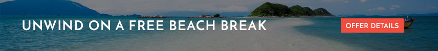 Unwind on a free beach break