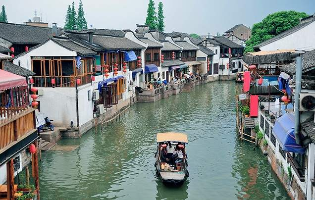Day 12 Zhujiajiao water town