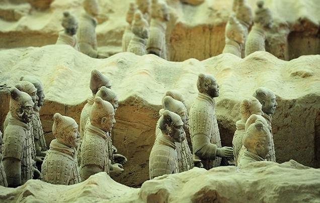 Day 6 Enigmatic Terracotta Warriors