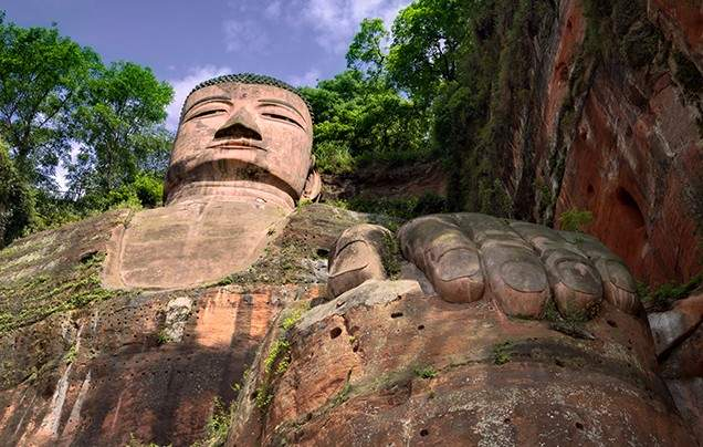 Day 12 Grand Buddha of Leshan