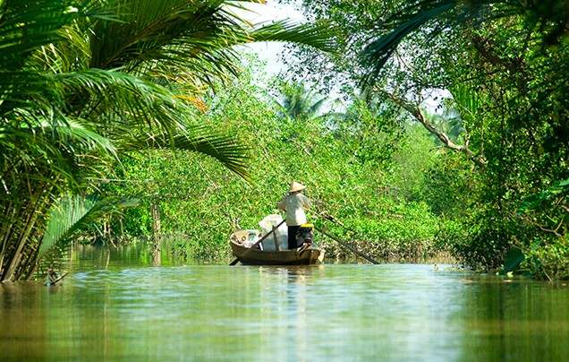 Day 14 Mekong Delta by Rickshaw
