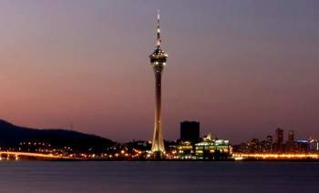 The 1,109ft Macau Tower