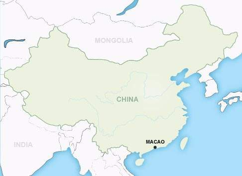 Macao Map