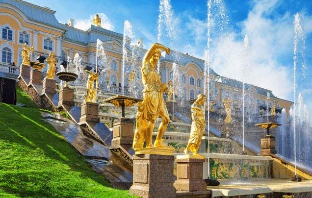 Day 13 Peterhof Palace and Park