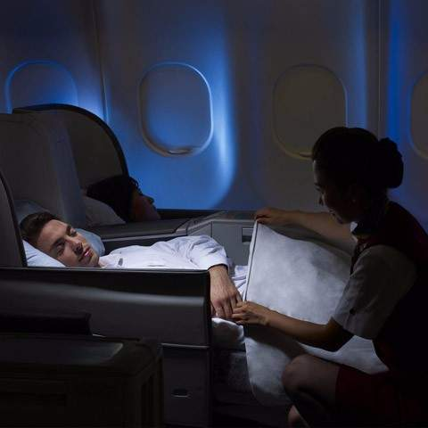 Upgrade to business class from £99 – valued at £1200