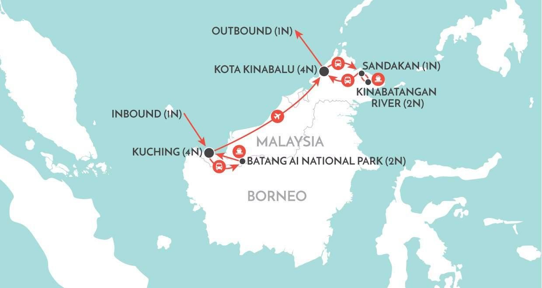 Best of Borneo Borneo Tour Wendy Wu Tours