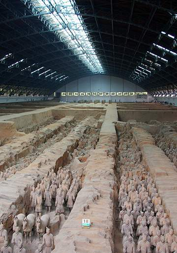SEE THE TERRACOTTA WARRIORS