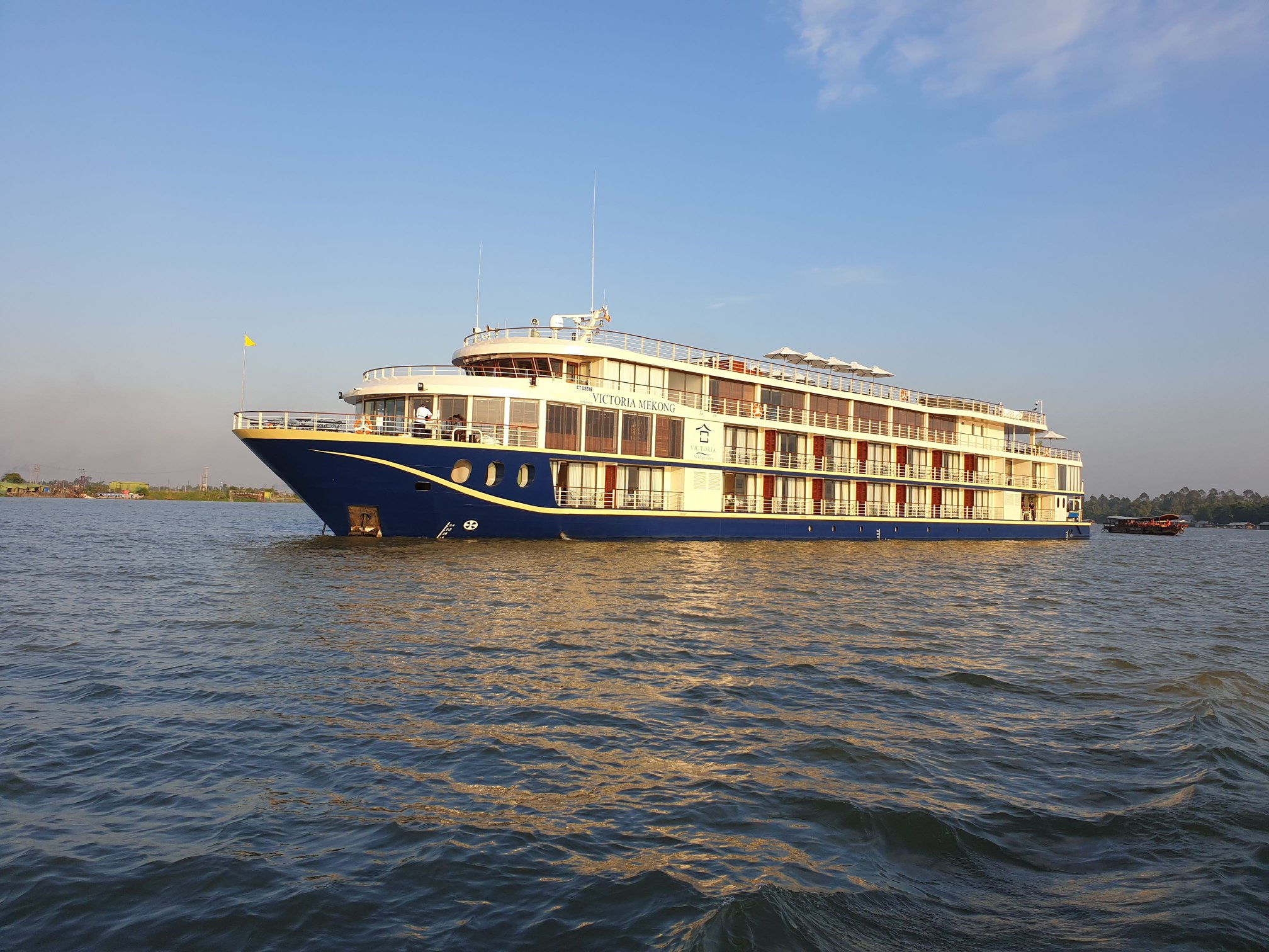 Victoria Mekong Sets Sail Today!
