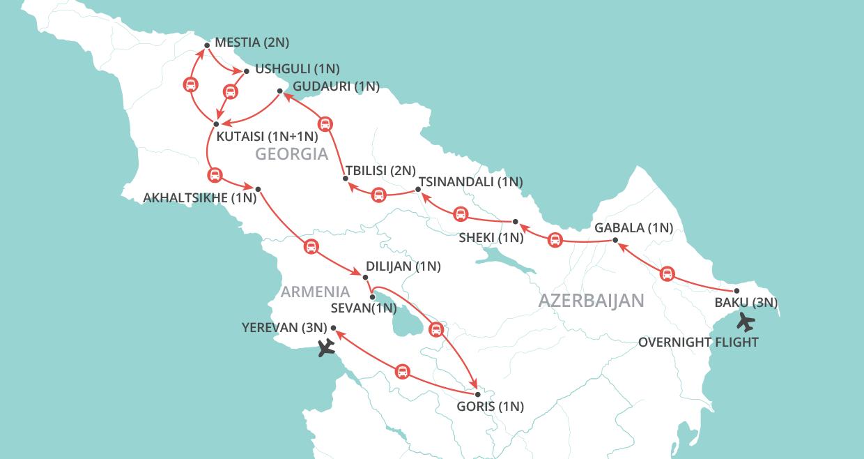 Eurasia Explorer map