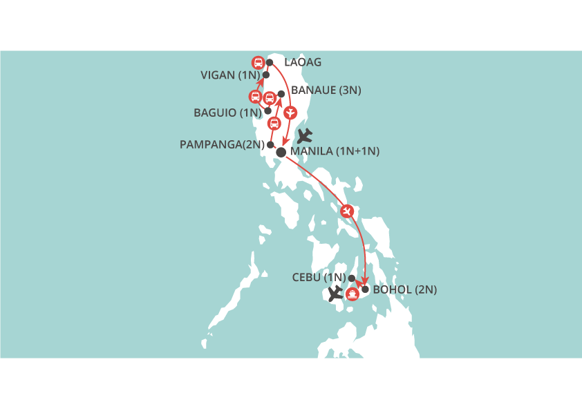 Philippines Discovery map