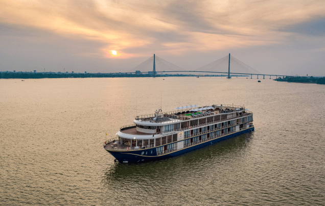 DAY 5: BOARD THE VICTORIA MEKONG