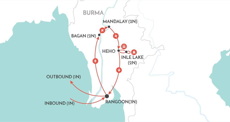 Burma Explorer Escorted Tours 2018 / 2019