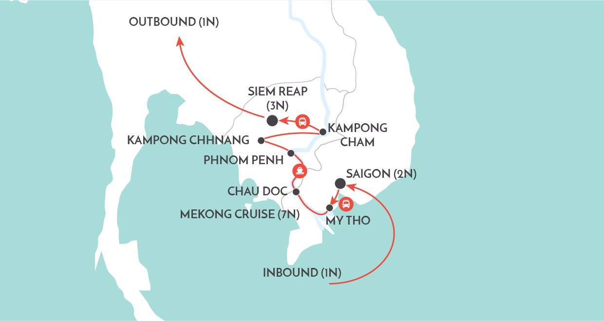 Mekong Discovery map