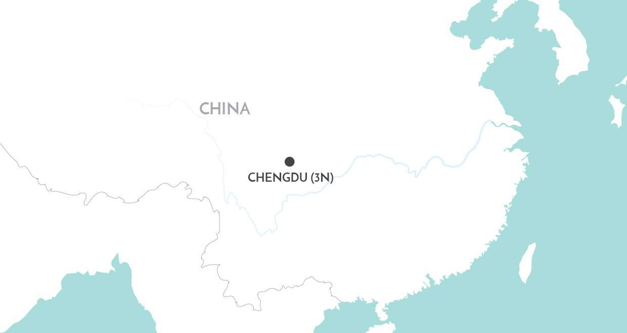 Chengdu Short Stay map