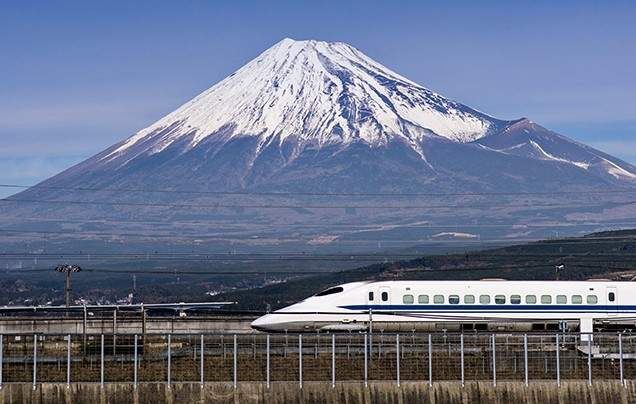 Day 7 Bullet train to Kyoto
