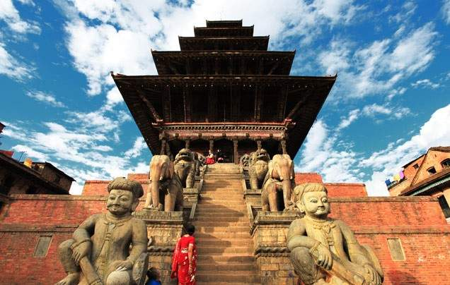 Days 12-13 Fly to Nepal and explore Bhaktapur