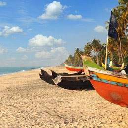 Kerala Backwaters and Beach Tour