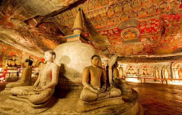 Day 6 Dambulla Rock Temple