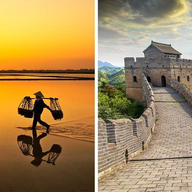 Treasures of Vietnam & China Tour