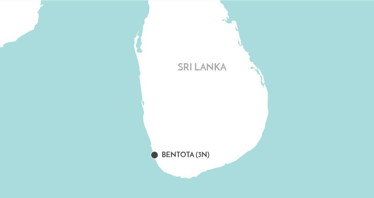 Bentota Beach Stay map