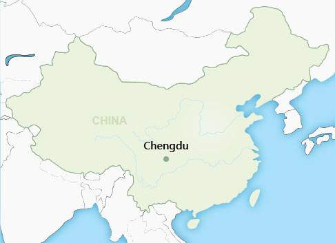 Chengdu Map