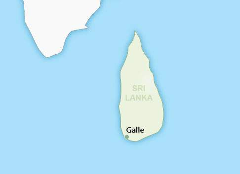 Galle Map