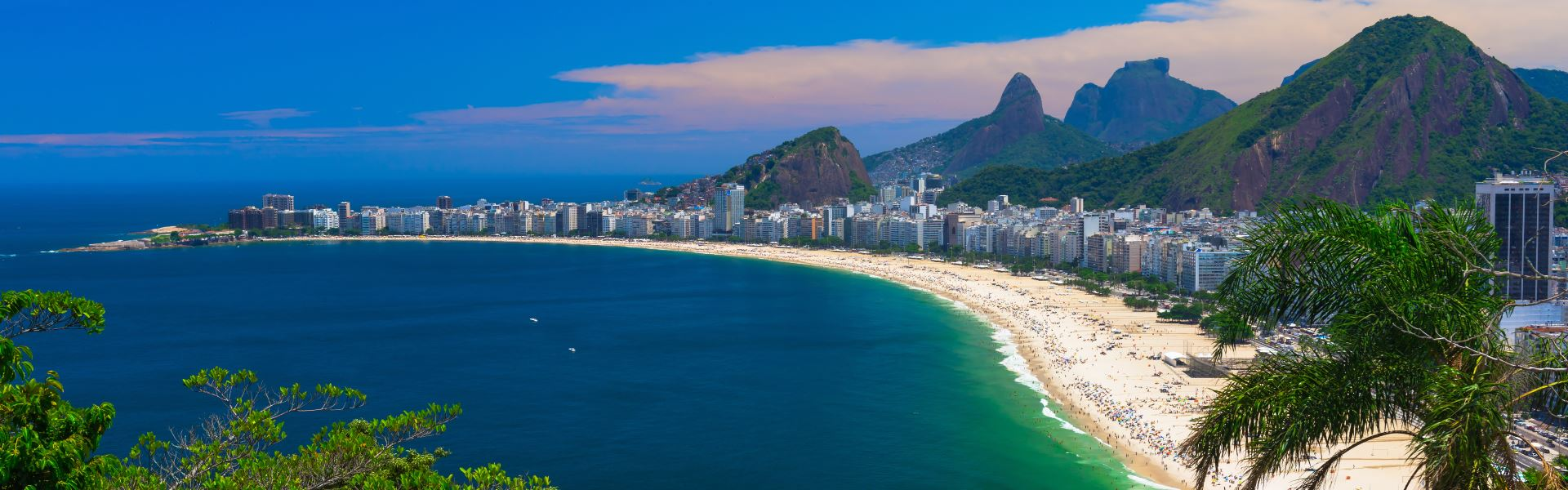 Tours visiting Copacabana Beach, Brazil | Wendy Wu Tours