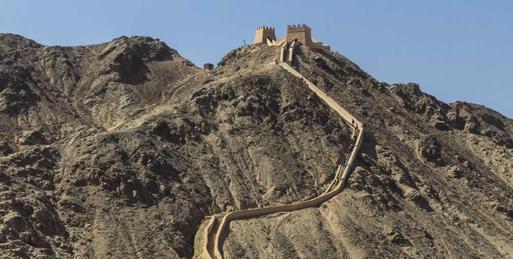 Great Wall at Jiayuguan