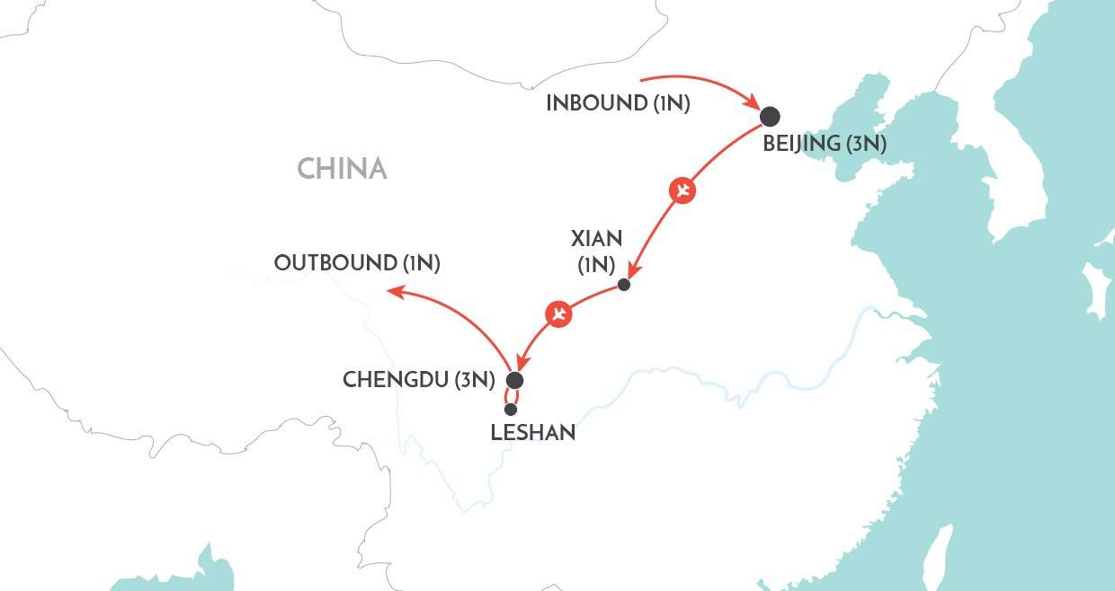 In Pursuit of Pandas map
