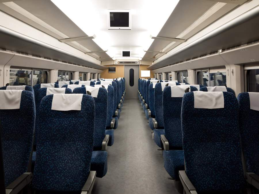 china bullet train interior